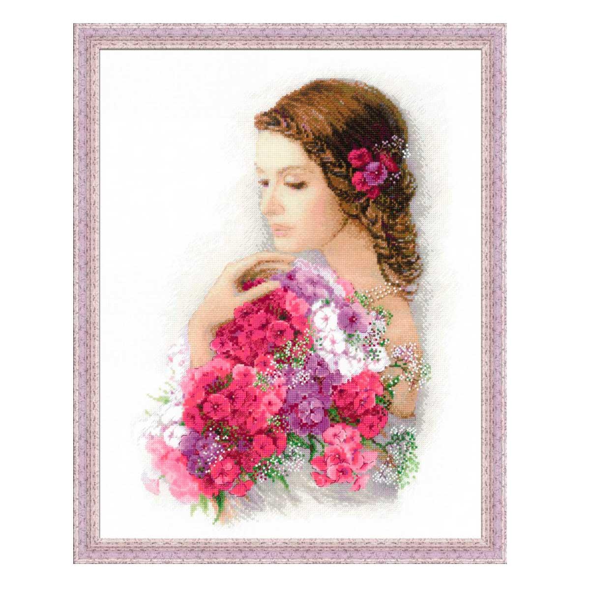 100/036 Набор для вышивания Riolis 'Очарование лета', 35*45 см