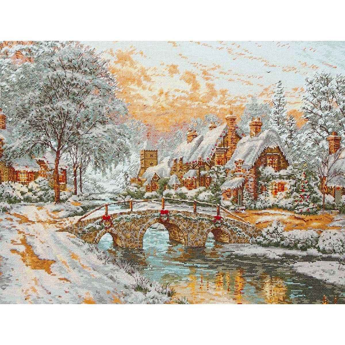 01062-5678000 Набор для вышивания MAIA 'Рождество', 35х45 см