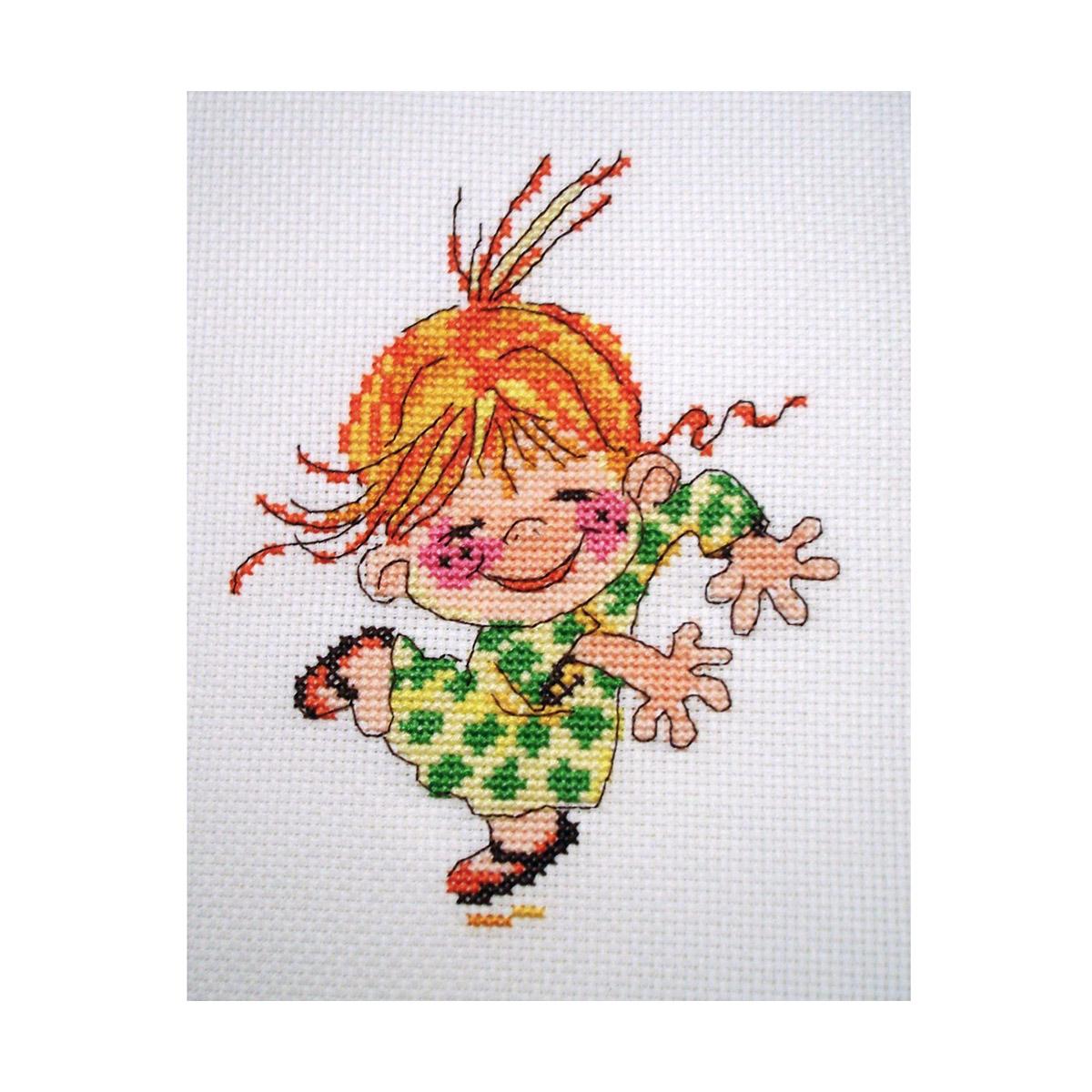 0-15 Набор для вышивания АЛИСА 'Клара' 11*14см