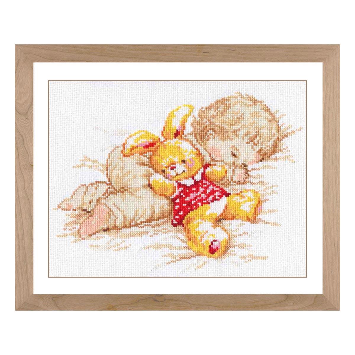 4-06 Набор для вышивания АЛИСА 'Дочурка' 25*19см