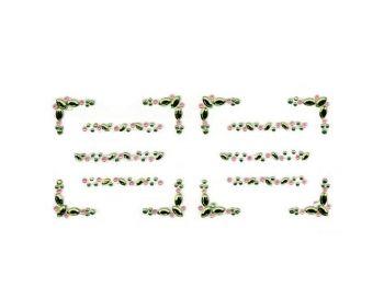 7850800 Стразы самоклеющ., рамки-бордюры (уп.)