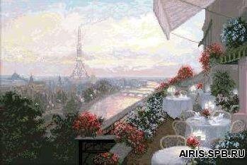 10409 Набор для вышивания /Париж/