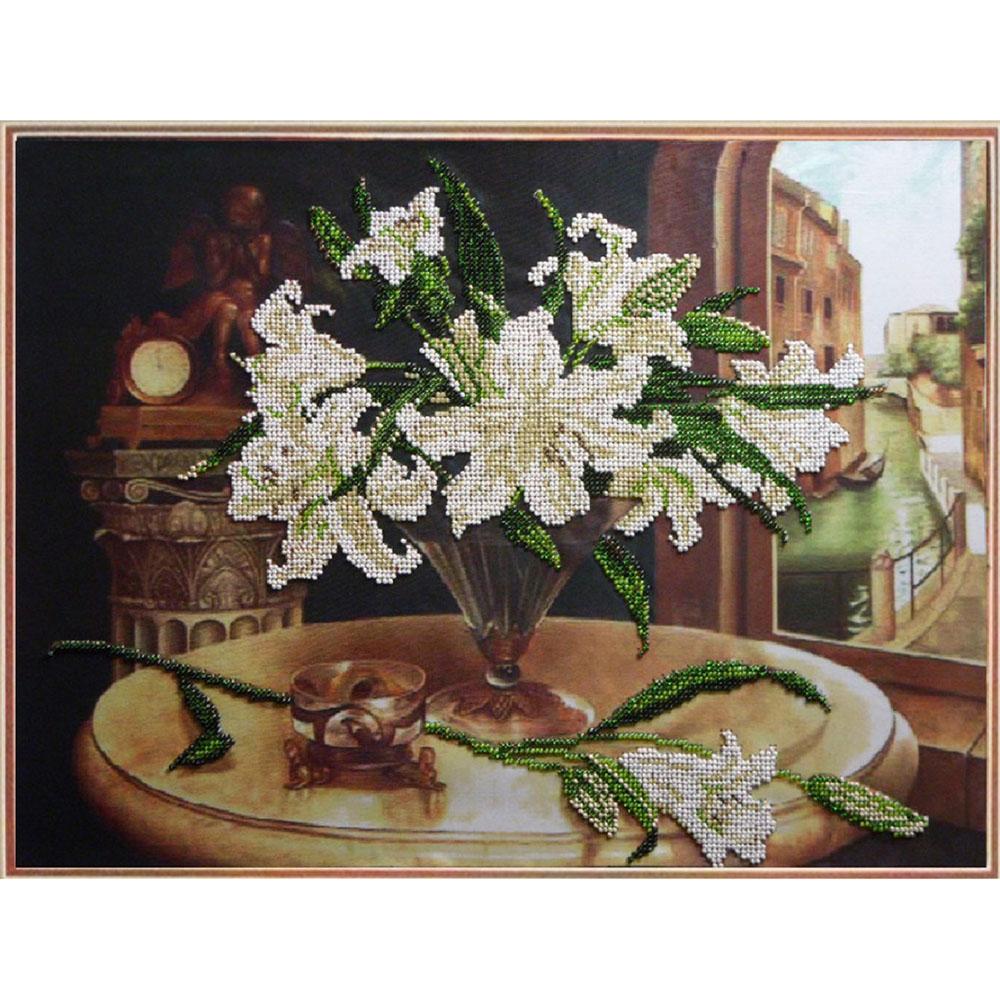 80410 Набор для вышивания бисером Краса и творчество 'Венеция' 41,3*31,2 см