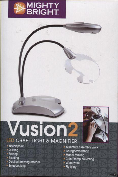 Лампа 63422 с 6-ю светодиодами и лупой