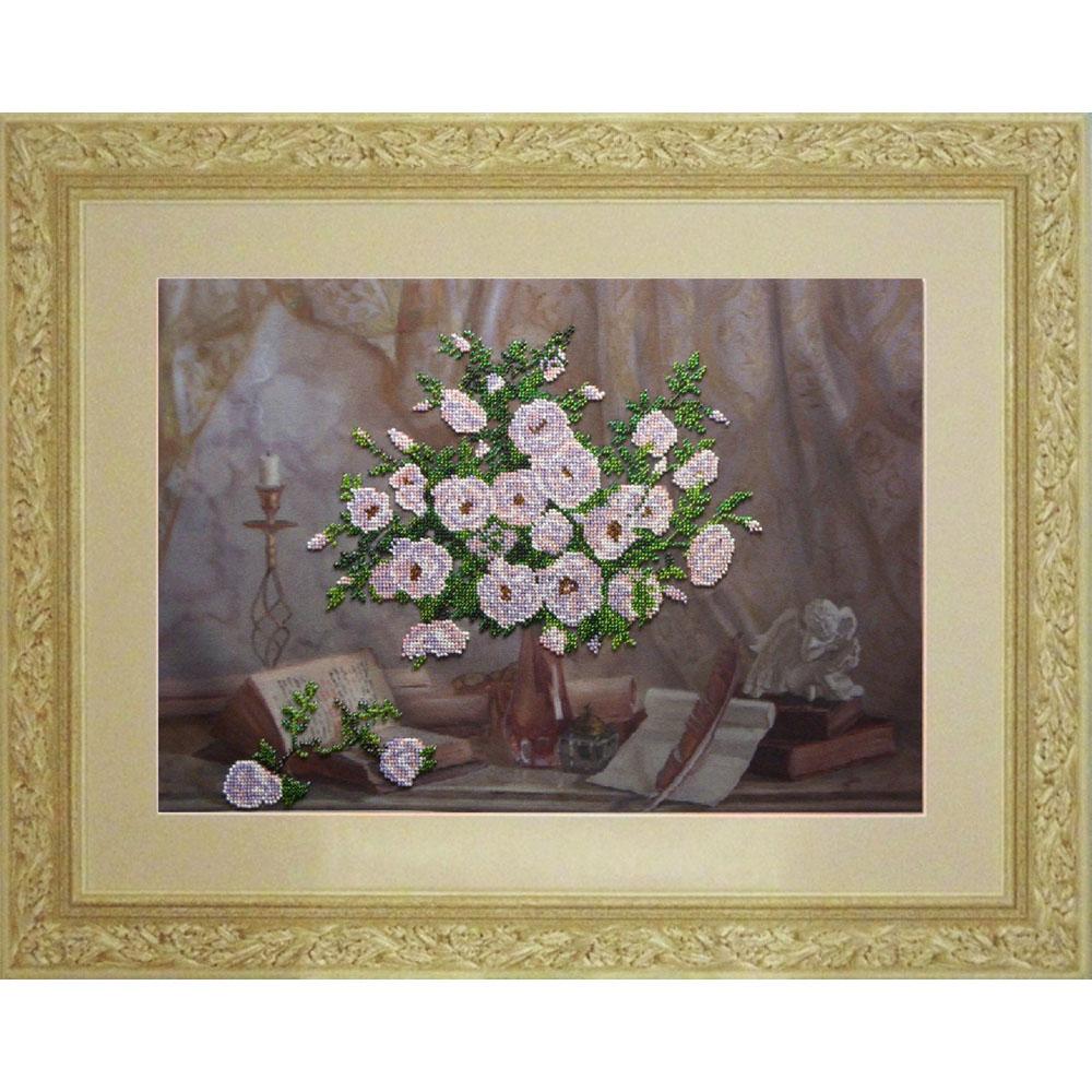 40510 Набор для вышивания бисером Краса и творчество 'Я Вам пишу…' 46,4*31,8 см