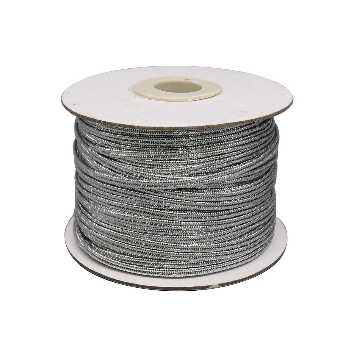 Шнур-сутаж металл. TR-114, 2мм*50м