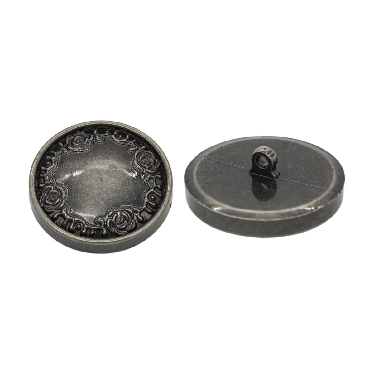 Пуговица пальтовая на ножке (пластик), 44L