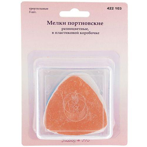 422103 Мелки портновские разноцветные, треугольные, упак./3 шт., Hobby&Pro