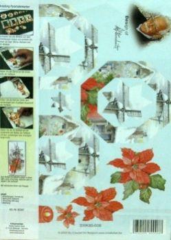 Набор для созд. открытки с объемным рисунком