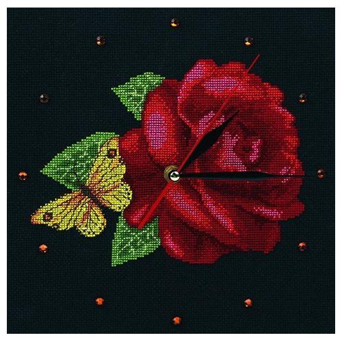 М40008 Набор для вышивания RТО 'Время роз', 25х25 см