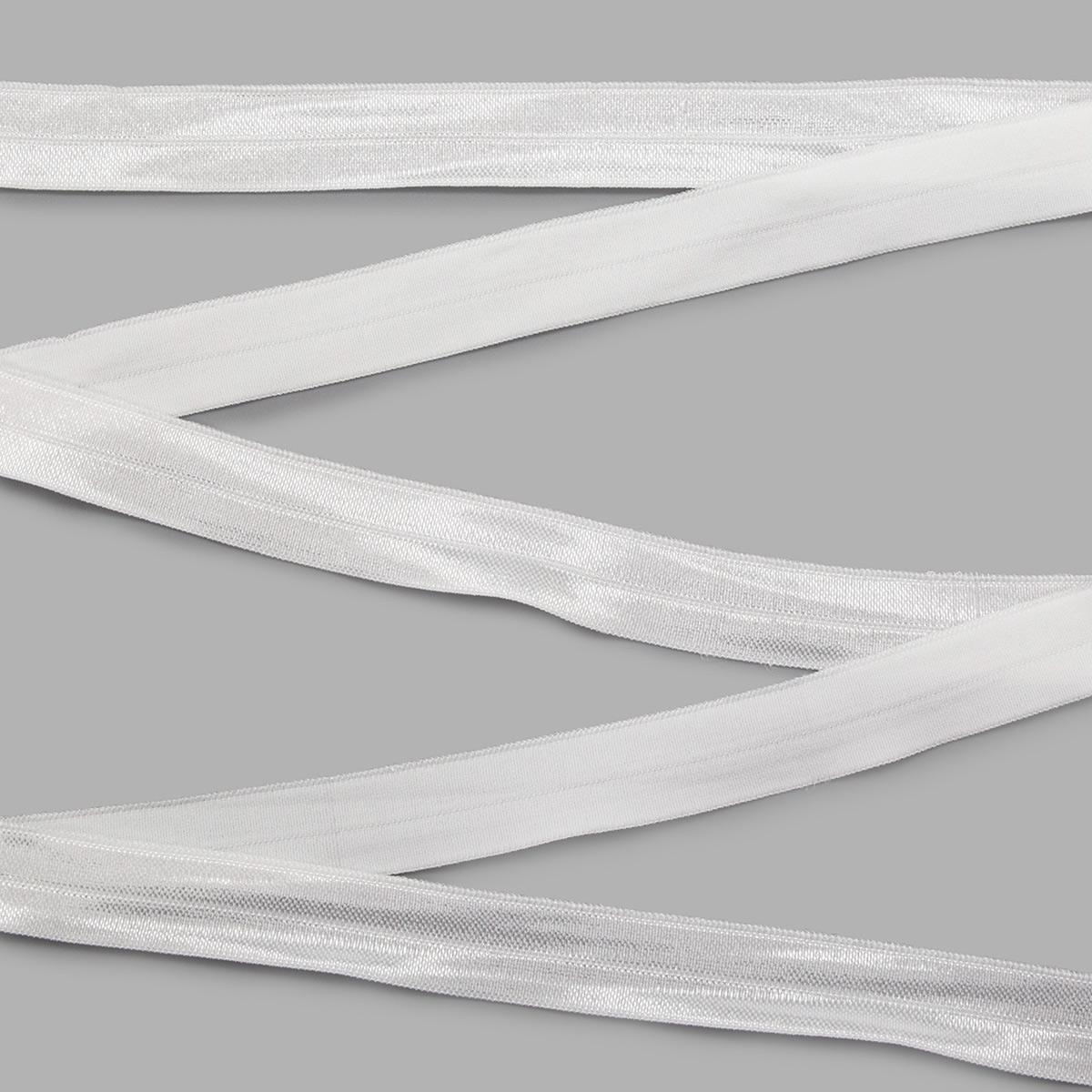 46-07330/18/бел. Резинка окантовочная 18мм*