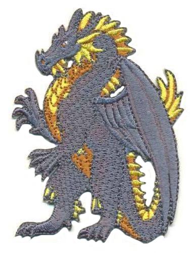 AD1027 Термоаппликация 'Дракон', 9*6 см, Hobby&Pro