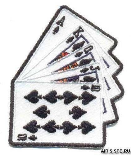 AD1031 Термоаппликация 'Карты', 8*6 см, Hobby&Pro