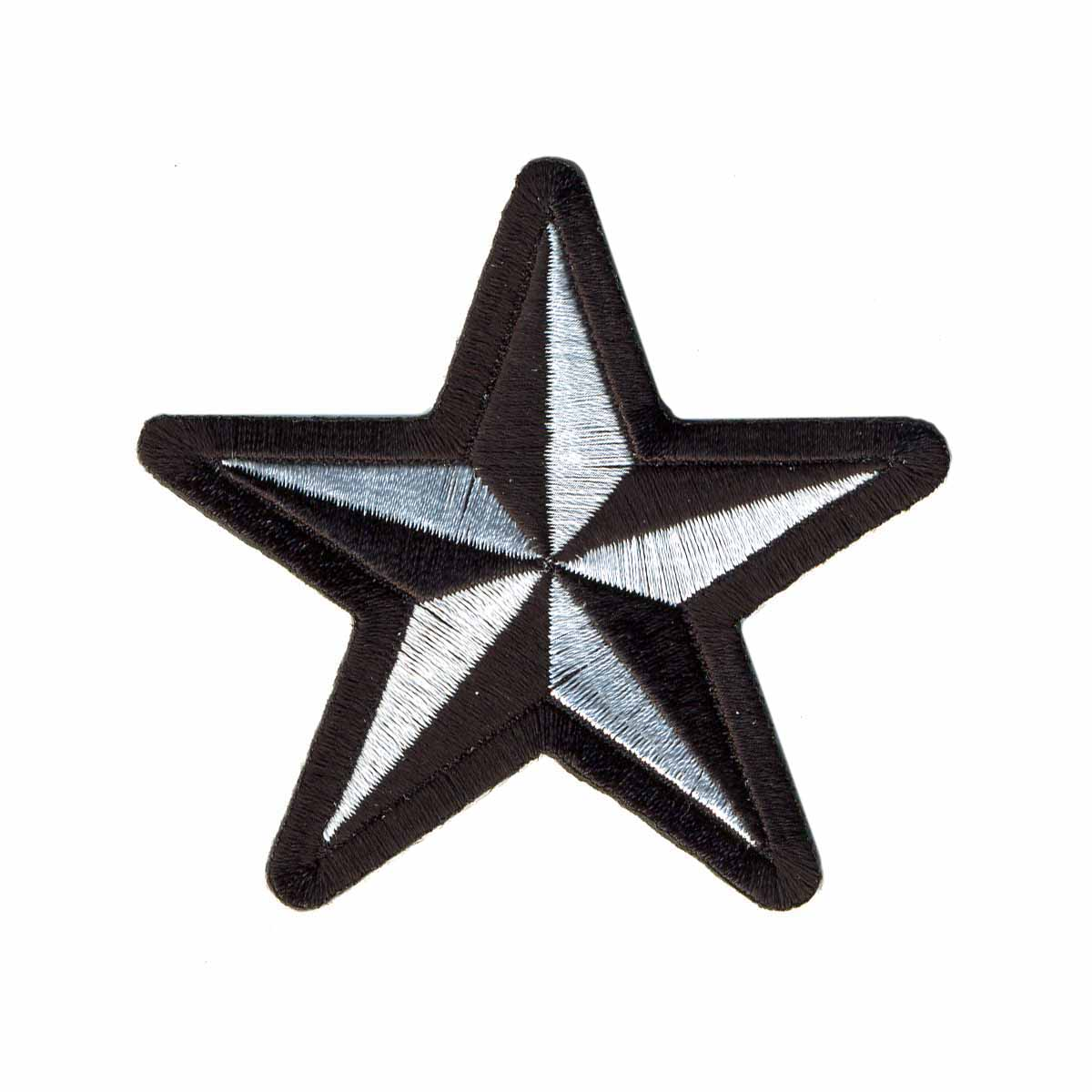 AD1139 Термоаппликация 'Звезда', 7 см, Hobby&Pro