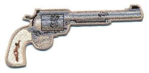 AD1239 Термоаппликация 'Пистолет', 5*11 см, Hobby&Pro