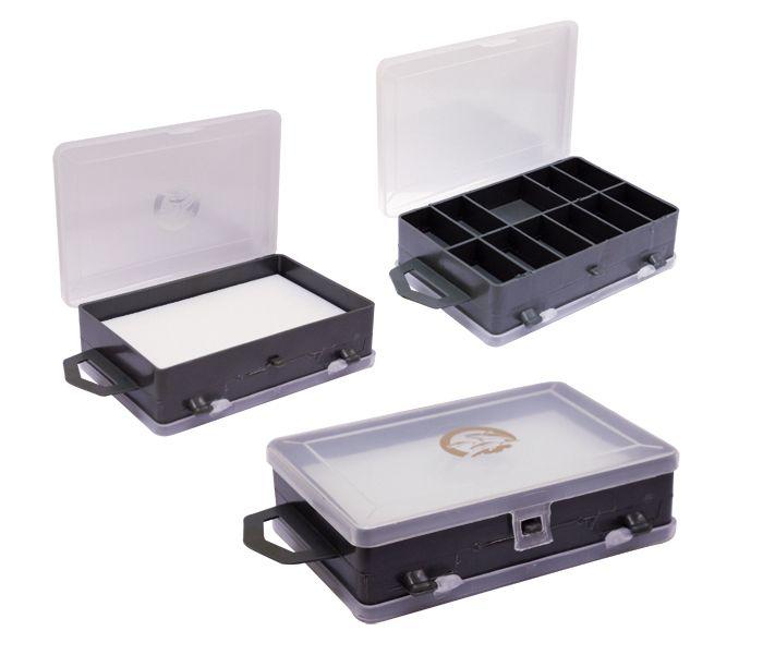 Коробка для мелочей ТК-14 'ТРИ КИТА' двухсторонняя 113х75х32 мм, 11 ячеек+1 отделение
