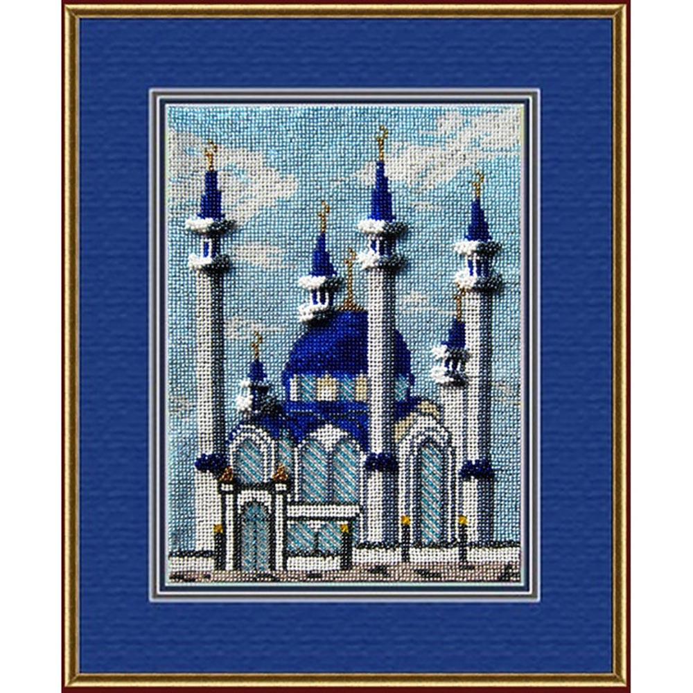 029РВ Набор для вышивания бисером 'Вышивальная мозаика' 'Кул Шариф Мечеть г.Казань', 18*26 см