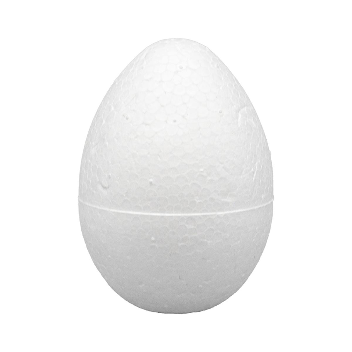Заготовка для декорирования из пенопласта 'Яйцо', h 5см, d 3,5см