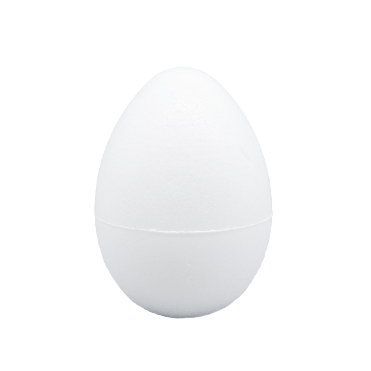 Заготовка для декорирования из пенопласта 'Яйцо', h 8см, d 5,5см