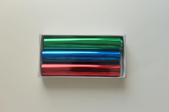 Поталь трансферная 'Винтажная позолота' многоцветная, 150*1500 мм