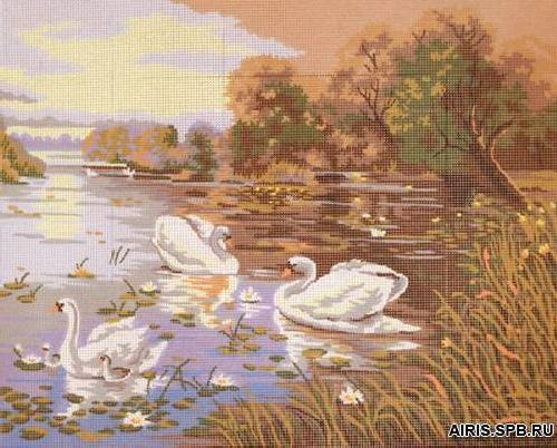 11591-CDA Канва с рисунком, Collection D`Art
