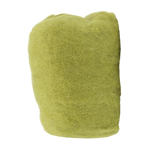 255030 Шерсть овечья для фелтинга, св.зеленый, 50 гр. Glorex