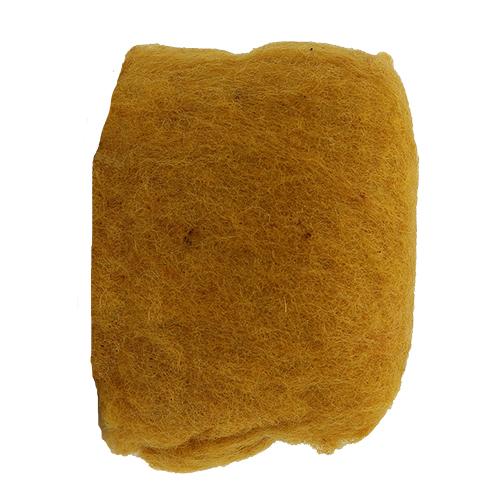 255094 Шерсть овечья для фелтинга, золотой, 50 гр. Glorex
