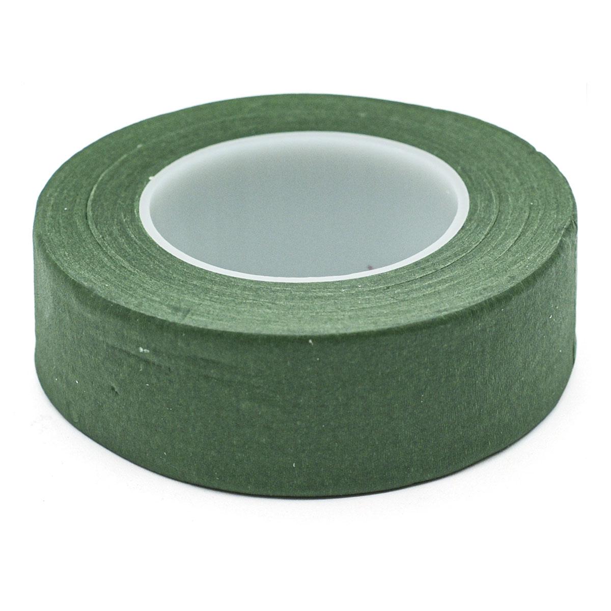 62220302 Флористическая лента ,25,4мм,зеленый,28м Glorex
