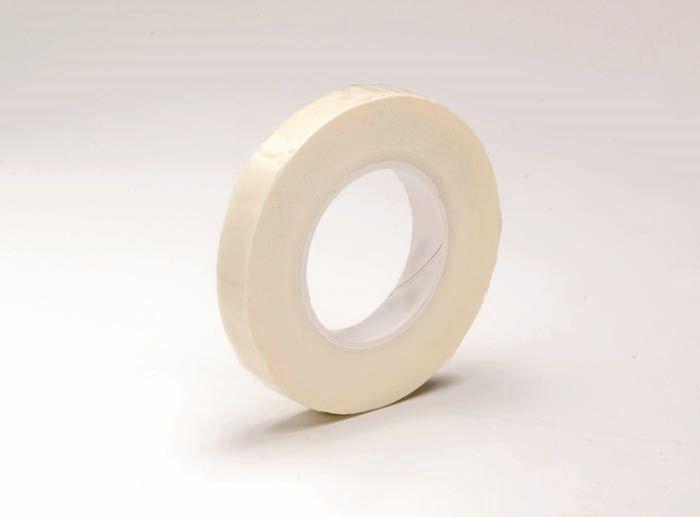 62220303 Флористическая лента ,13мм,белый,28м. Glorex