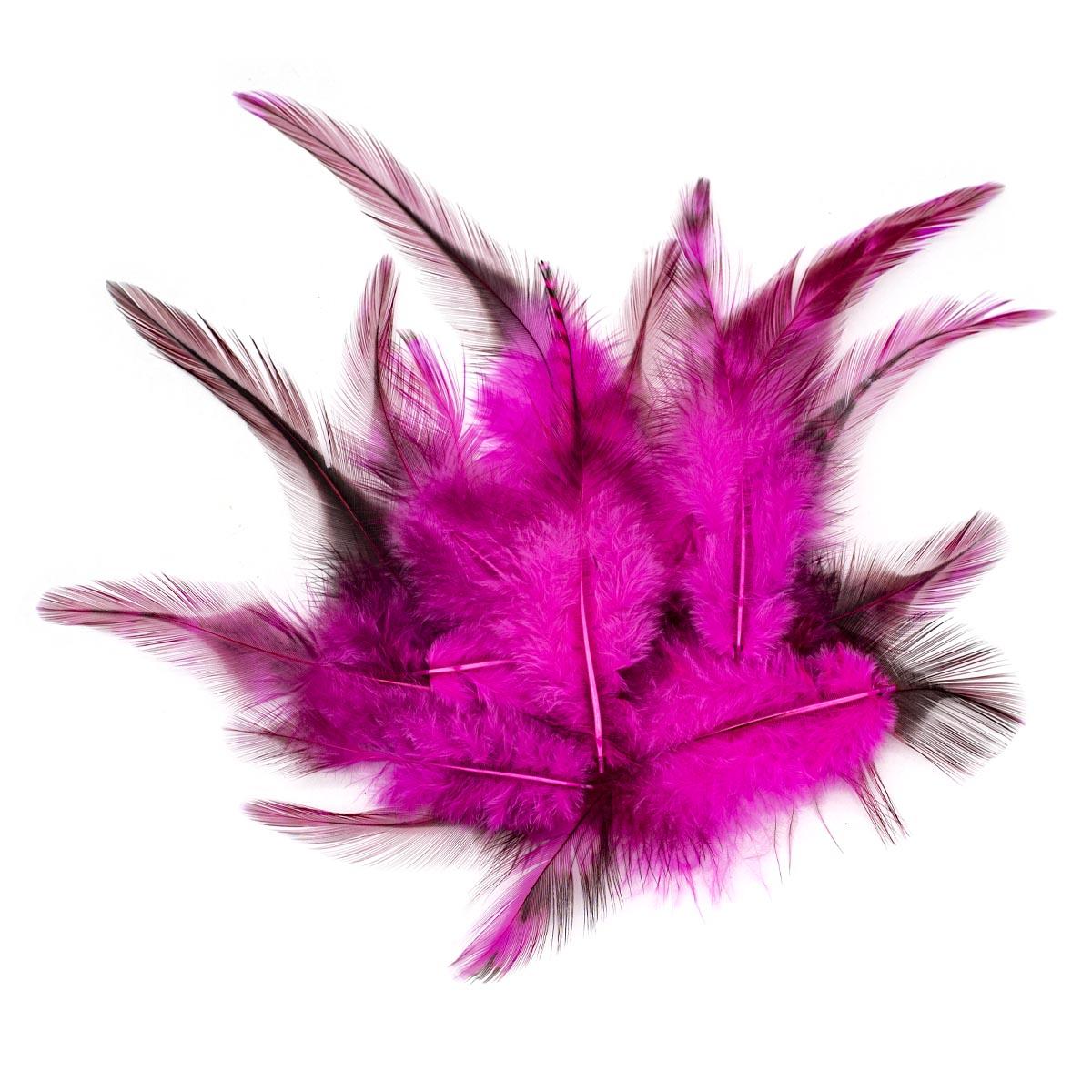 63821005 Перо декоративное,розовый,15шт. Glorex