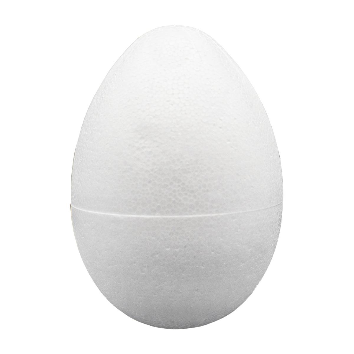 Заготовка для декорирования из пенопласта 'Яйцо', h 10см, d 7см