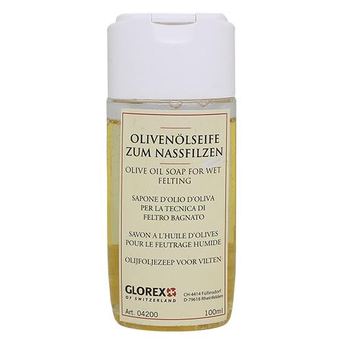 4200 Оливковое мыло для валяния, 100мл Glorex