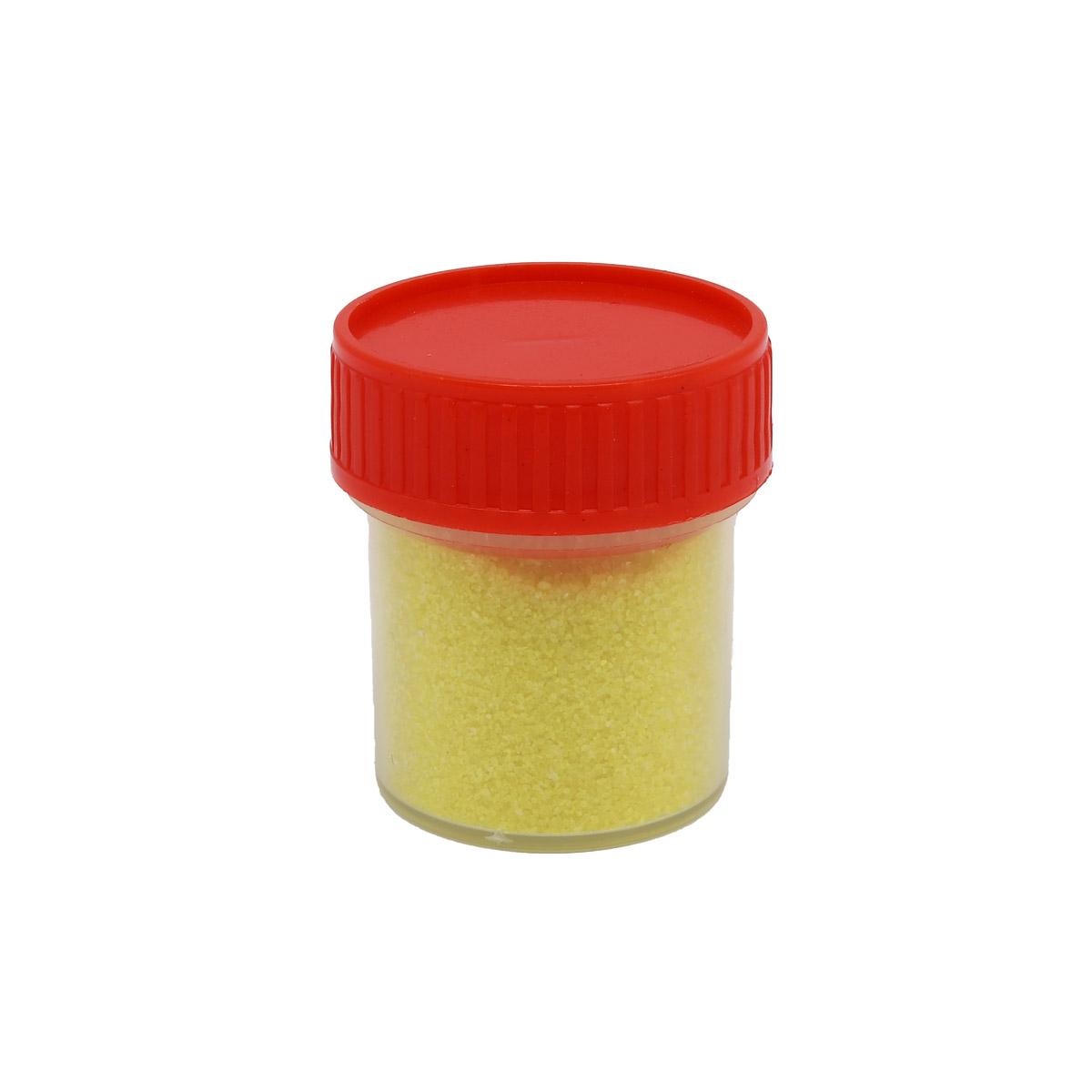 АК-0003-1 Пыльца гранулир. 0,1мм в баночке 20мл желтая