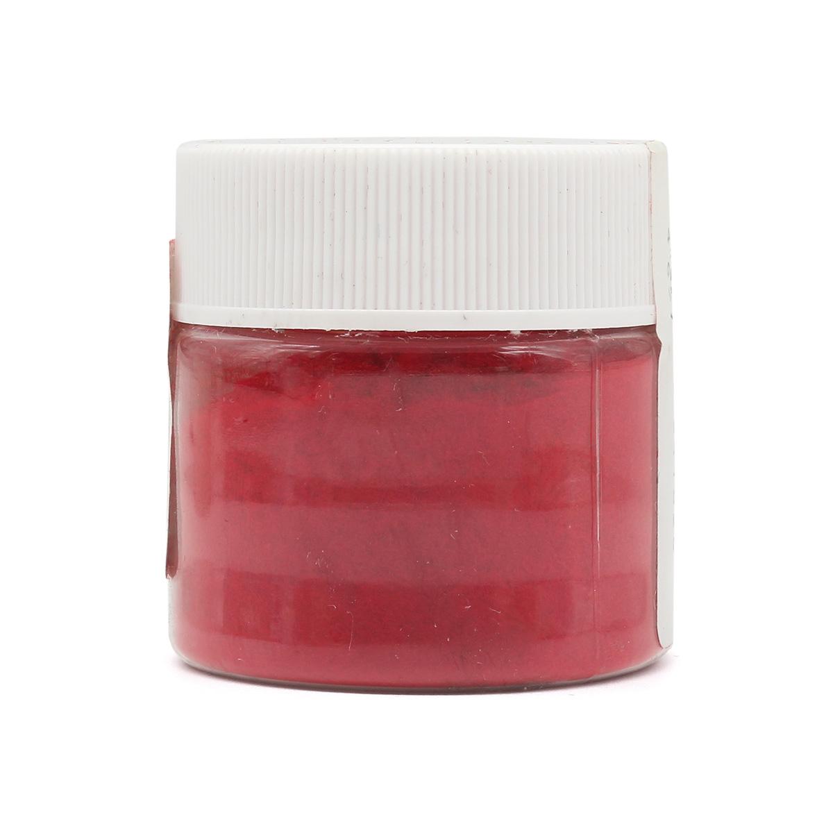 АК-0011-1 Пыльца бархатная 0,1мм в баночке 20мл т.красная