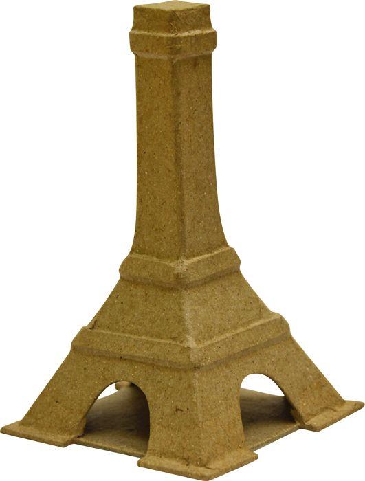 Фигурка из папье-маше, Эйфелева башня 12,5*7,5см