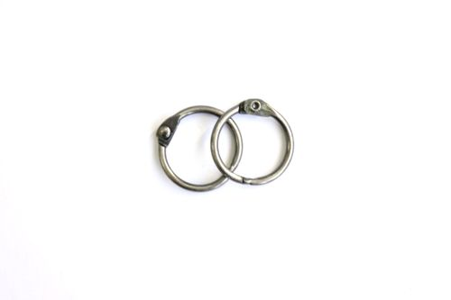 SCB 2504120 Кольца для альбомов, серебро, 20 мм, упак./2 шт.
