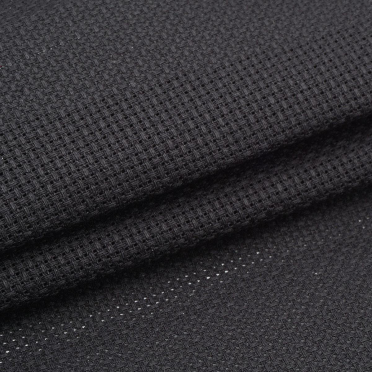Канва 624010-14C/T черная Bestex