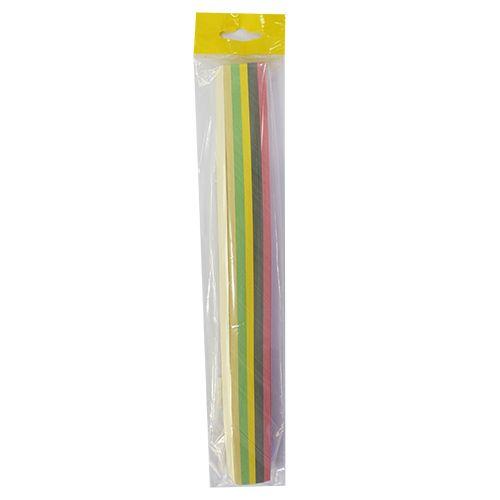 0036-2/15 Набор для квиллинга, ассорти, 5-6цветов, 15 мм, 160 гр./м2, упак./125 л.