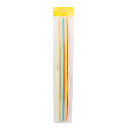 0037-2/15 Набор для квиллинга, ассорти, 10 цветов, 15 мм, 160 гр./м2, упак./125 л.