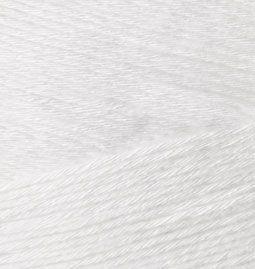 Пряжа ALIZE 'Bamboo fine' 100гр. 440м. (100% бамбук) (55 белый) фото