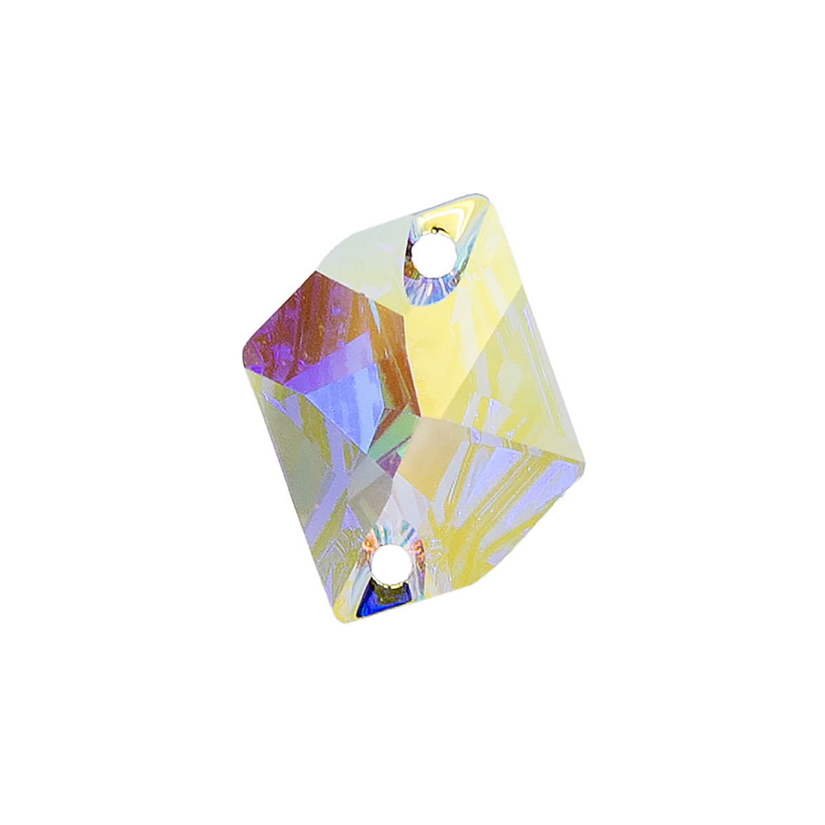 Нашивные кристаллы(камень) 3265/E 20.0*16.0мм кристалл с эфф. 1шт. Swarovski