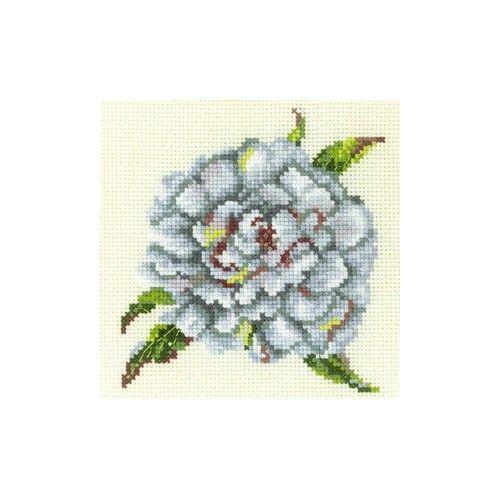 EH331 Набор д/вышивания мулине 'Пион белый'