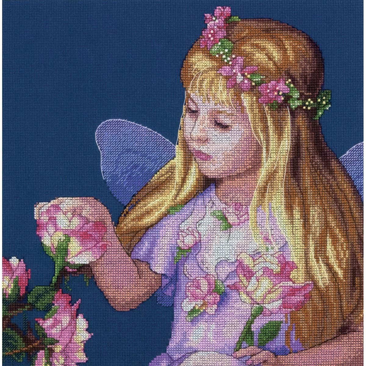 35297-70-DMS Набор для рукоделия Dimensions 'Фея цветов', 28х28 см