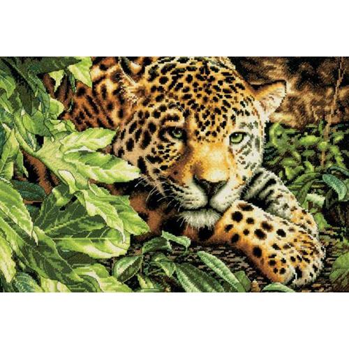 35300-70-DMS Набор для рукоделия Dimensions 'Леопард на отдыхе', 40х27,5 см