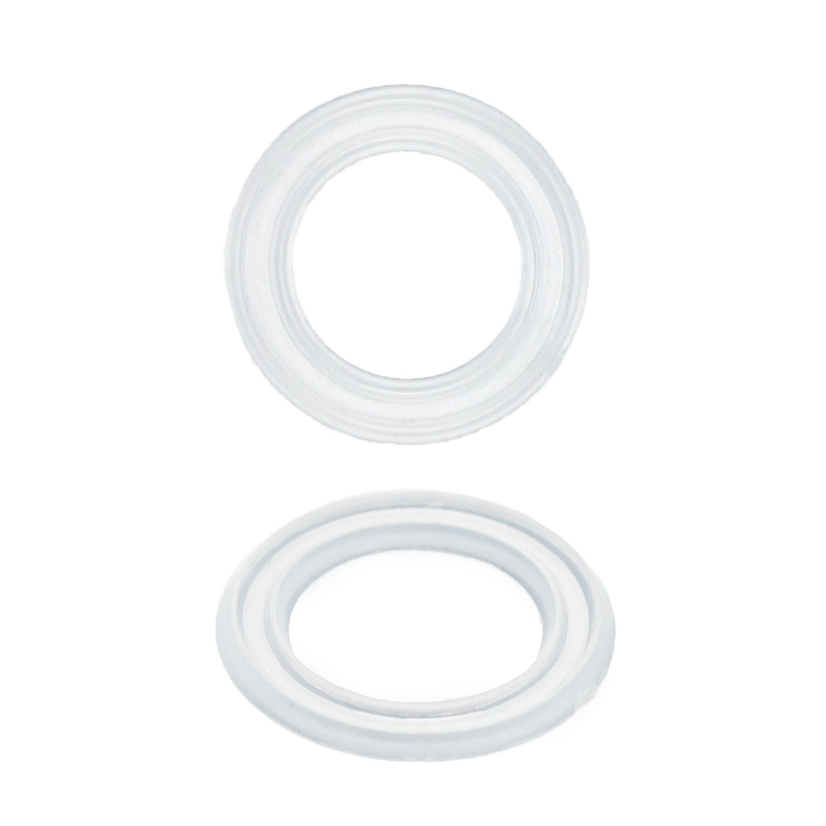 64778 Кольцо пласт. под люверс, д-8мм прозр. ГР