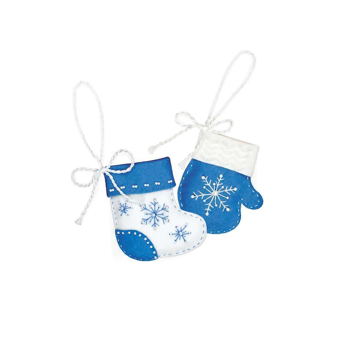 1378АС Набор для рукоделия Riolis новогодние игрушки 'Метелица', 8*9 см