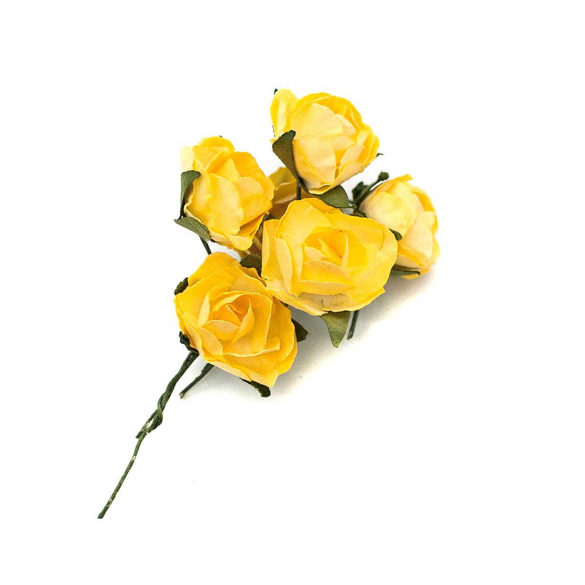 Розы из бумаги, упак./8 шт., SCB