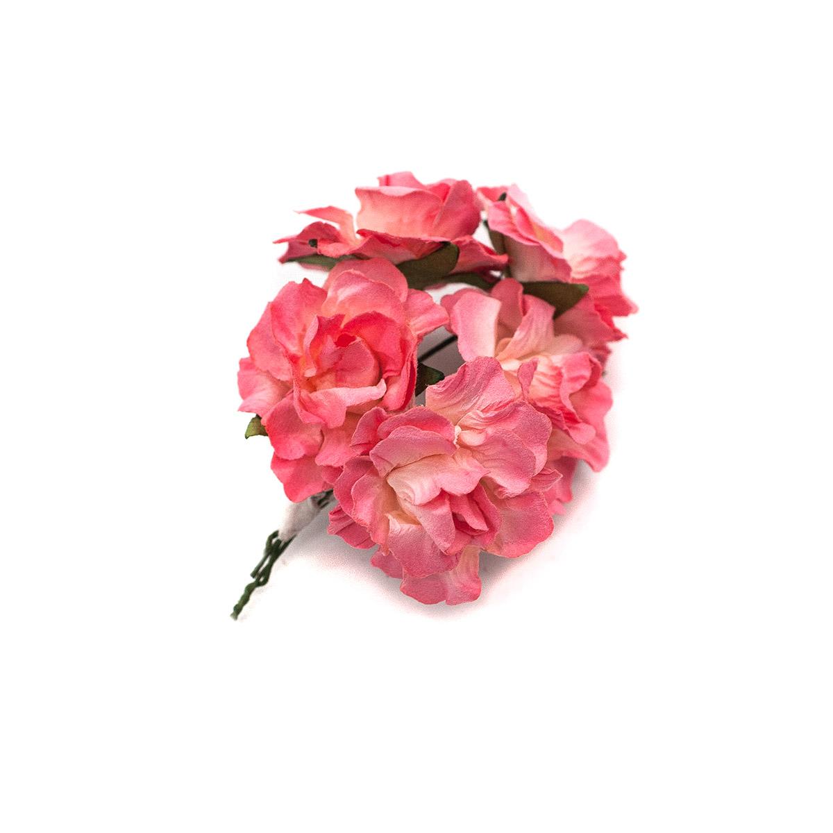 Кудрявые розы из бумаги, упак./8 шт., SCB (280604 нежно-розовые) фото