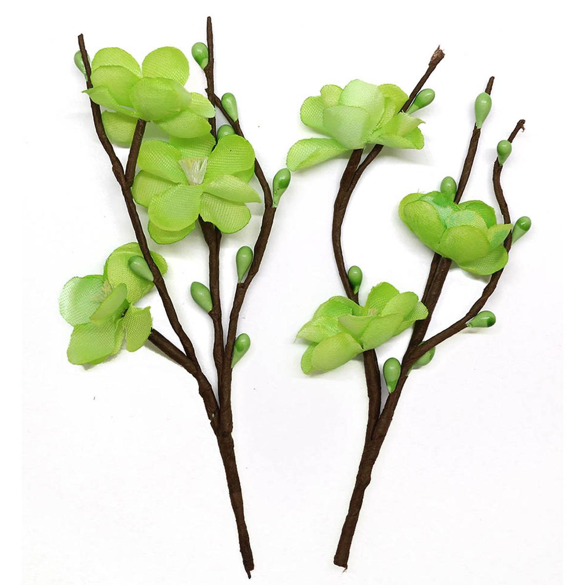 Цветы вишни из бумаги, упак./2 шт., SCB