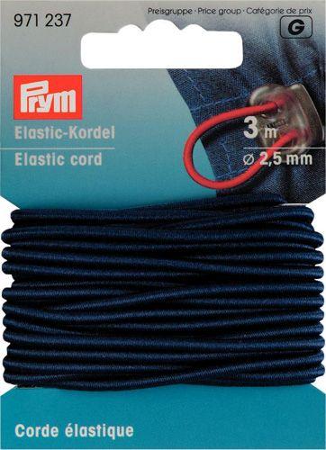 971237 Эластичный шнур, 2,5 мм цв. морской воды 3 метра Prym